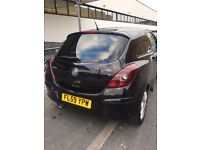 VAUXHALL CORSA BLACK CHEAP CATD
