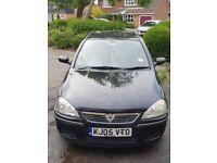 Vauxhall Corsa 1.2L Black 5 Door