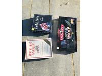 Limited edition Star Wars monopoly Game and two new games Murder mystery dinner/cold feet