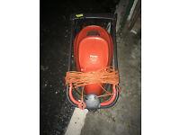 flymo easy glide 330 electric lawnmower