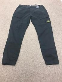 Stone Island badge cargo pants 38R BNWT