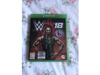 wwe 2k18 , xbox one , as new ! price stands , no offers !
