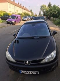 PEUGEOT 206 - 1.4L LOW PRICE (FAULTY FUEL INJECTOR)