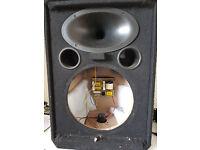 Wharfedale Pro EVP-X 12 spares, no bass speaker