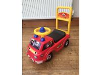 Fireman Sam baby walker push along & ride on
