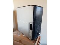 Dell XPS Gamer, Intel Quad Core 4x 2.4Ghz, 500GB Raid 0 HDD, Nvidia 8600GTS HD, Win 10, Office
