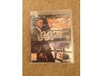 PS3 007 Legends (Brand New)