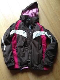 Ladies winter jacket/coat ('Animal' make) - size 14 - in fantastic condition!