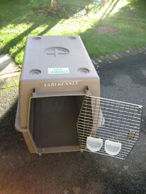 DOG Kennel (large) for home or travel