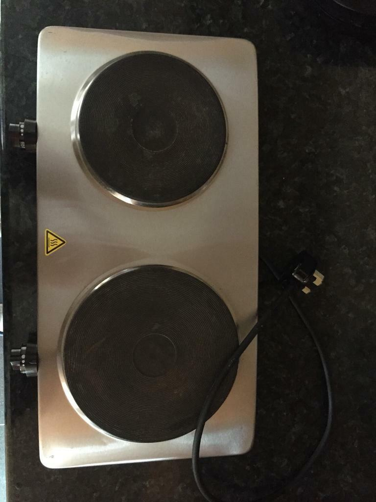Goodmans Stainless Steel Double Hotplate