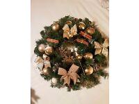 Luxury Quality Christmas Door Wreath ...Wall handing ornaments... Hand made