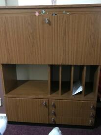 Solid wood Storage / Display unit