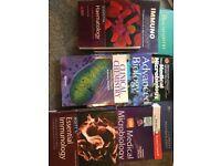 University Science undergraduate degree textbooks
