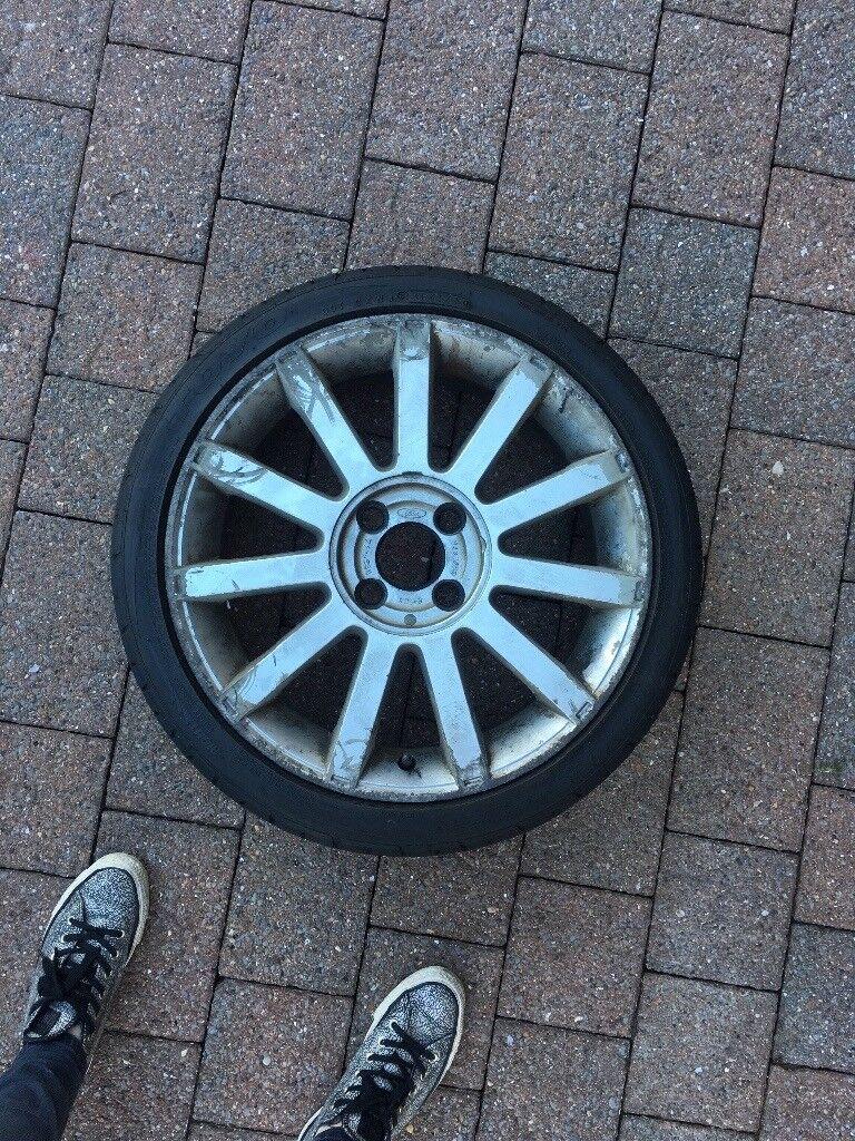 Fiesta ST Mk6 Set of 5 alloy wheels