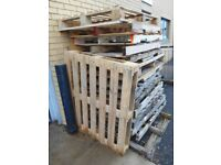 Used Wooden Pallets, Various States of Condition. Collection only. FREE.