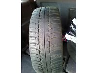 TWO USED TYRES WINTER SUMMER TYRES FOR SALE