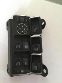 Tesla or Mercedes electric window switch set