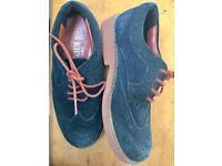 Boys suede shoes size 11