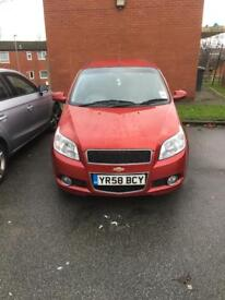 Chevrolet Aveo 2009 RED Automatic 1.4 Lt Petrol very low mileage