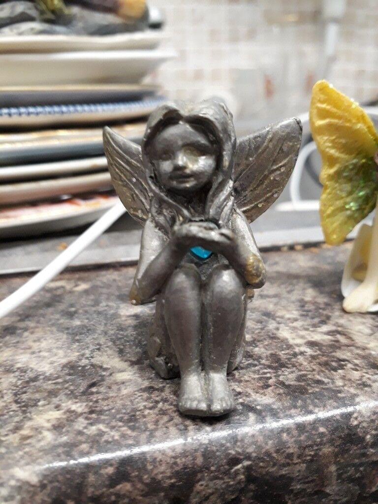 Metal Fairy Ornament