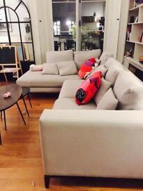 Grey corner luxurious Sofa to sell