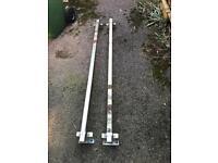Vauxhall vivaro roof rack bars