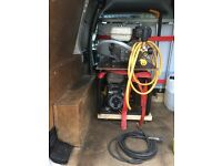 Honda gx200 jetwash with lance gun & 10meter hose & brand new Honda generator