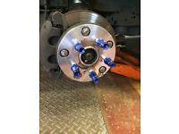 Transit van wheel adaptors 5x160 5x114