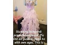 Prom/bridal dress size8
