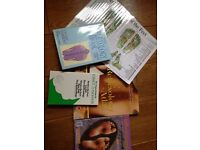 Reflexology books and foot map