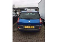 Renault Megane Scenic - **6 MONTH WARRANTY** New Cambelt, Discs & Pads, Battery plus more