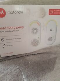 Motorola digital audio baby monitor