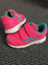 Girls Ortholite Adidas trainers