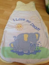 Baby's sleeping bag. 0-6 months perfect condition. £1