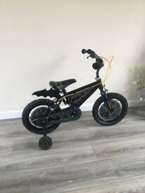 Children's batman bike 1 year old hardly used