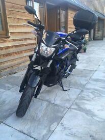 Yamaha MT-03, very low mileage