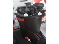 fluval fx6 large canister filter with some new media and all fittings as new but no box