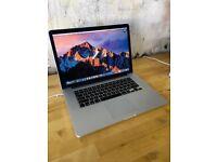 15.6 Retina Macbook Pro i7 2.4Ghz 8GB 250GB SSD Native Instruments Izotope Omnisphere Papen Warranty