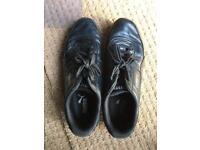 Men's black puma trainers size 8
