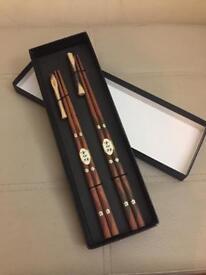 New Chopsticks & presentation box