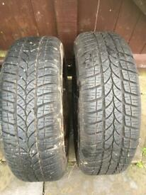 RIKEN winter tires (tyre) 205 55 16