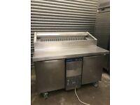 Electrolux pizza topping fridge, preparation under counter fridge