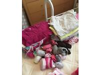 Two huge bags of baby/toddler clothes (for girls)
