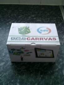 Carrvas gps brand new in box