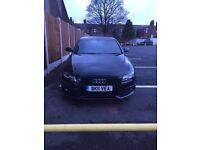 Audi A4 black edition 2.0tfsi 2011 xenons full service history damaged salvage repairable px swap