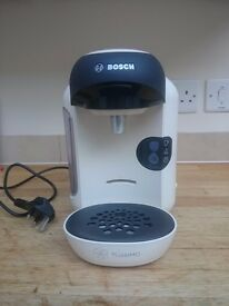Nearly New Cream Bosch Tassimo Vivy