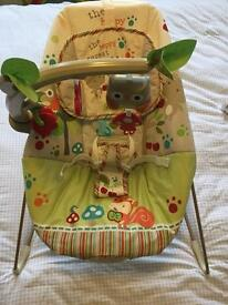 Fisher Price Calming Vibrations baby bouncer chair