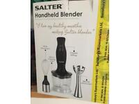Salter handhelds blender