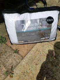 Duck pillows