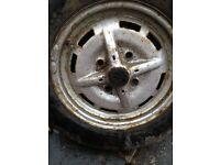 VW Beetle Rare GT/ Jeans 4 spoke steel wheels - £100 contact 07743223069